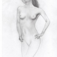 Sketch – Girl (nude)